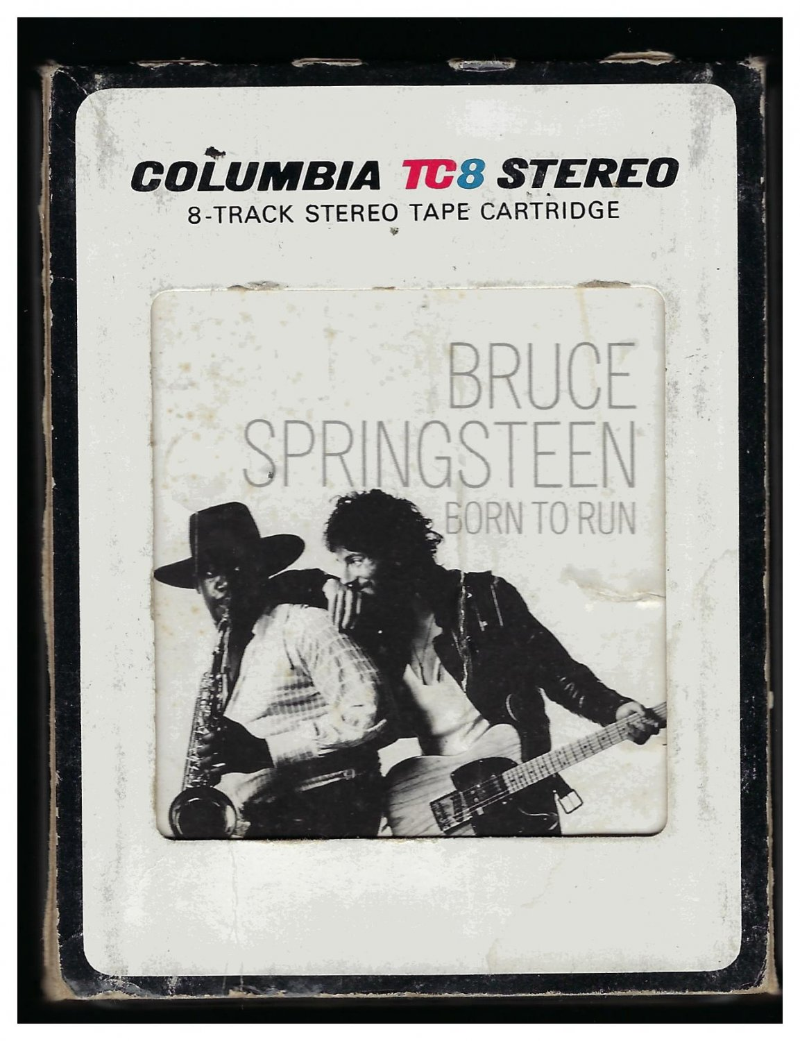 Bruce Springsteen - Born To Run 1975 CBS A43 8-TRACK TAPE