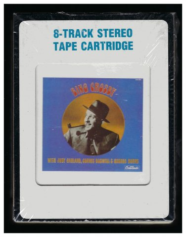 Bing Crosby - The Radio Years Vol 1 1985 CRC CRESCENDO Sealed A36 8-TRACK TAPE