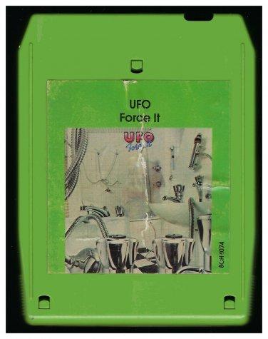 UFO - Force It 1975 CHRYSALIS A17B 8-TRACK TAPE