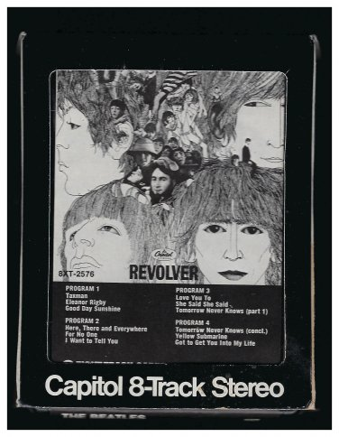 The Beatles - Revolver 1966 CAPITOL Re-issue A12 8-TRACK TAPE
