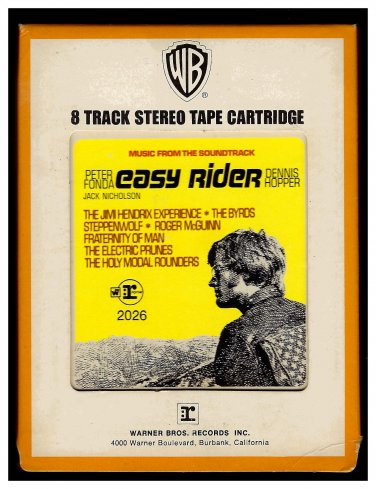 Easy Rider - Original Soundtrack From The Motion Picture 1969 REPRISE WB A21B 8-TRACK TAPE