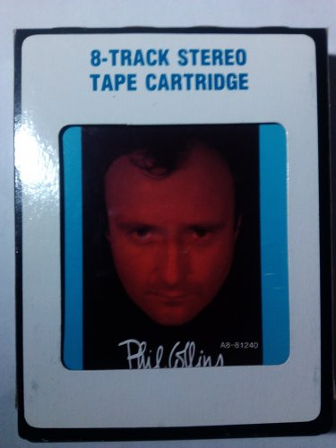 Phil Collins - No Jacket Required 1985 CRC A2 8-TRACK TAPE