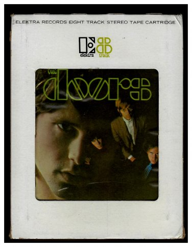 The Doors - The Doors 1967 Debut ELEKTRA Re-issue A17B 8-TRACK TAPE