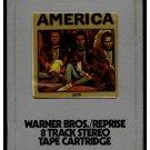 America - America 1972 Debut AMPEX WB AC2 8-TRACK TAPE