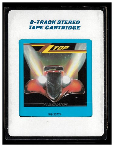 ZZ Top - Eliminator 1983 CRC A18C 8-TRACK TAPE