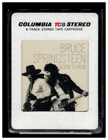 Bruce Springsteen - Born To Run 1975 CBS AC1 8-TRACK TAPE