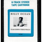 Billy Ocean - Tear Down These Walls 1988 CRC ARISTA Sealed A53 8-TRACK TAPE