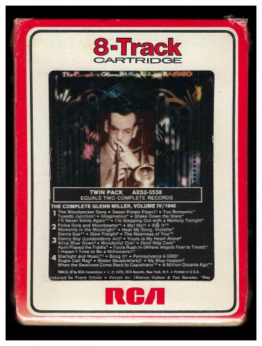 Glenn Miller - The Complete Glenn Miller Vol 4 1978 RCA Sealed A10 8-TRACK TAPE