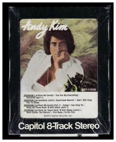 Andy Kim - Andy Kim 1974 CAPITOL A18B 8-TRACK TAPE