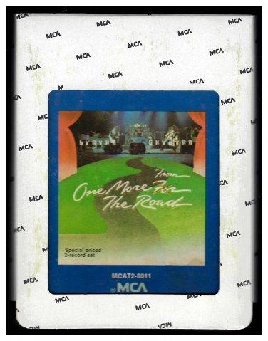 Lynyrd Skynyrd - One More From The Road 1976 MCA AC4 8-TRACK TAPE