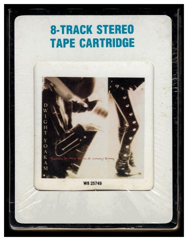 Dwight Yoakam - Buenas Noches from a Lonely Room 1988 CRC REPRISE A23 8-TRACK TAPE