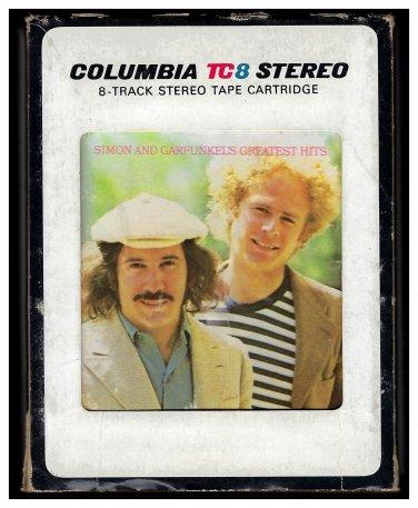 Paul Simon And Art Garfunkel - Simon & Garfunkel's Greatest Hits 1972 CBS T7 8-TRACK TAPE