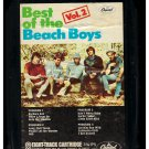 The Beach Boys - Best Of Vol 2 1967 CAPITOL Re-issue A18B 8-TRACK TAPE