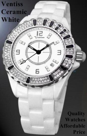 Ventiss Ceramic White (For specs, price, and availability, please contact watch99.ecrater@gmail.com)