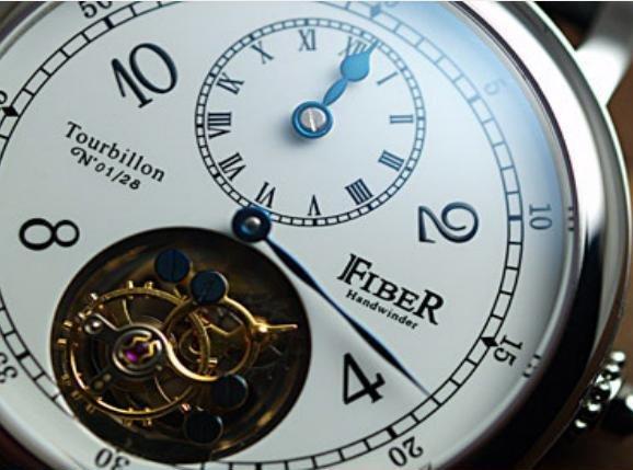Fiber - Tourbillon 3-in-1 Hand Winder (FB8002-TB-05)