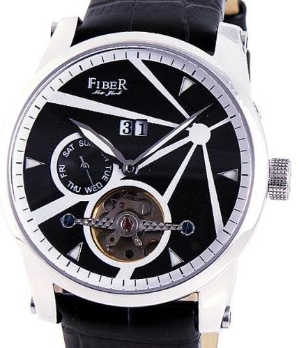 Fiber - Stainless Steel Black Face Plat (CODE: FB8009-01-2)