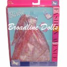 2002 Barbie Fashion Avenue Dress outfit Pink Plaid Gown
