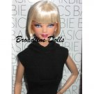 2009 Barbie Basics Model 9 09 doll Diva face sculpt Black label Collection 1 001 NRFB