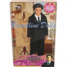 Enchanted Robert doll Disney Barbie sized Patrick Dempsey doll NRFB