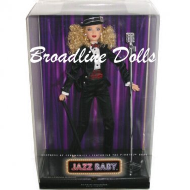 Barbie Jazz Baby Mistress of Ceremonies gold label pivotal / articulated doll NRFB