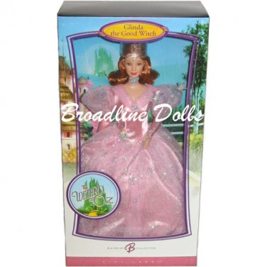Glinda the Good Witch Barbie from The Wizard of Oz collection 2007 doll NRFB