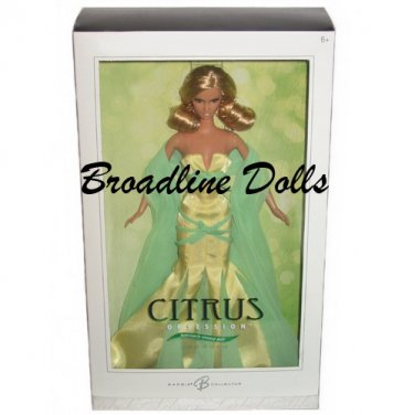 Citrus Obsession Barbie Silver Label doll NRFB