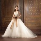 Monique Lhuillier Bride Barbie Gold Label doll NRFB