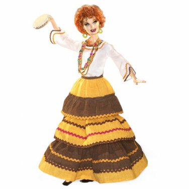 The Operetta Lucille Ball Barbie doll I Love Lucy collector series NRFB
