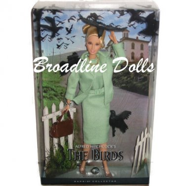 The Birds Barbie doll as Melanie Daniels in Alfred Hitchcock movie NRFB