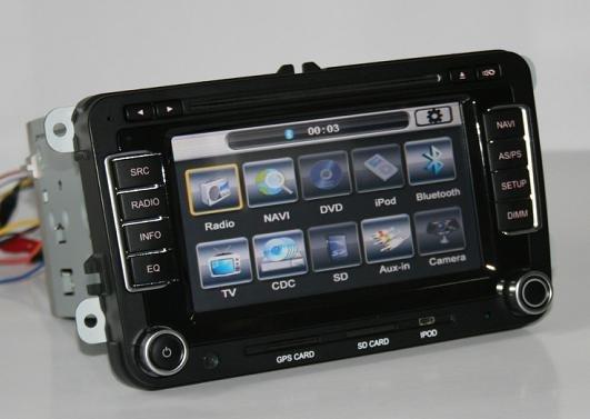 VW GOLF JETTA PASSAT EOS GPS DVD BT TV MFD2 MFD3 IPOD