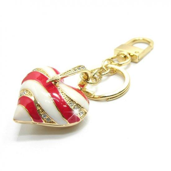 "Keychain -- Fashion Bag 'Sweet Heart"" Charms"