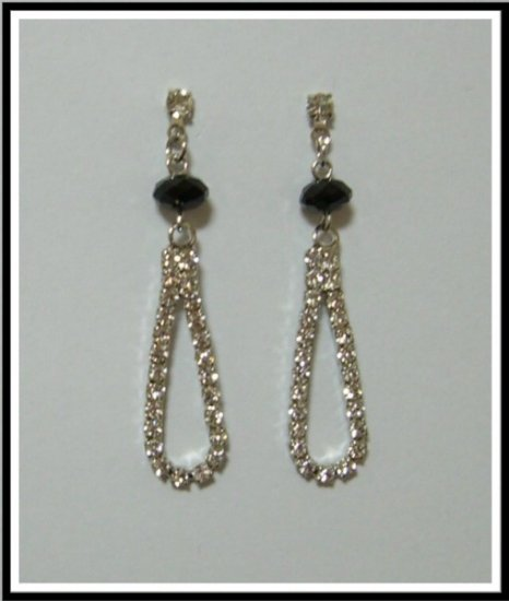 Elegance Design Earrings With Swarovski Crystal