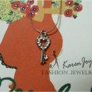 """N54  Rhinestones """"Key""""  Necklace"""