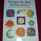 Paperback - Decorative Sun, Moon and Stars Stickers