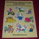 Paperback - Playful Dinosaur Stickers