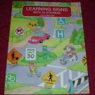 Paperback - Learning Traffic Signs Acitivity Book