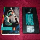 VHS - Peter Gabriel Secret World Live Rated UR