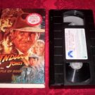 VHS -  Indiana Jones and the Temple of Doom Rated PG