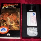 VHS -  Indiana Jones Raiders of the Lost Ark Rated PG