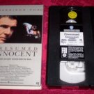 VHS - Presumed Innocent Rated R