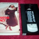 VHS - Sister Act Rated PG