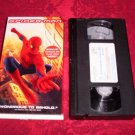 VHS - Spiderman Rated PG-13