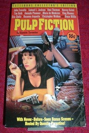 VHS - Pulp Fiction Rated R