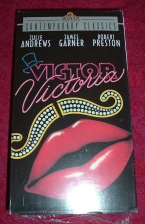 VHS - Victor Victoria Rated PG