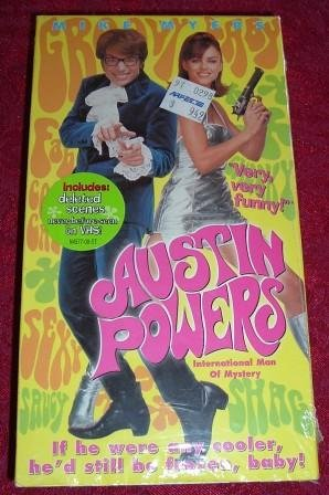 VHS - Austin Powers International Man of Mystery Rated PG-13