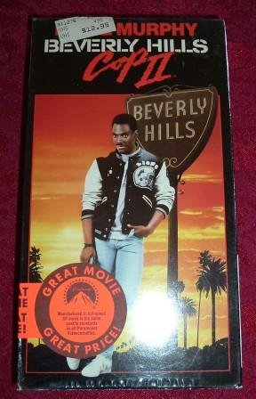 VHS - Beverly Hills Cop II Rated R