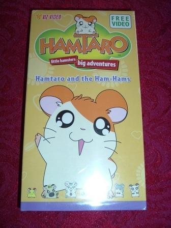 VHS - Hamataro and the Ham Hams Rated NR