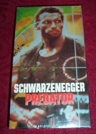 VHS - Predator Rated R