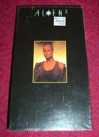 VHS - Aliens 3 Rated R