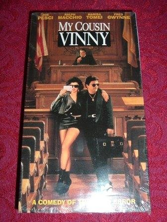 VHS - My Cousin Vinny Rated R